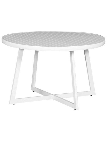 SIENA GARDEN Loungetisch »Alexis«, mit Aluminium-Tischplatte, Ø x H: 70 x 55 cm