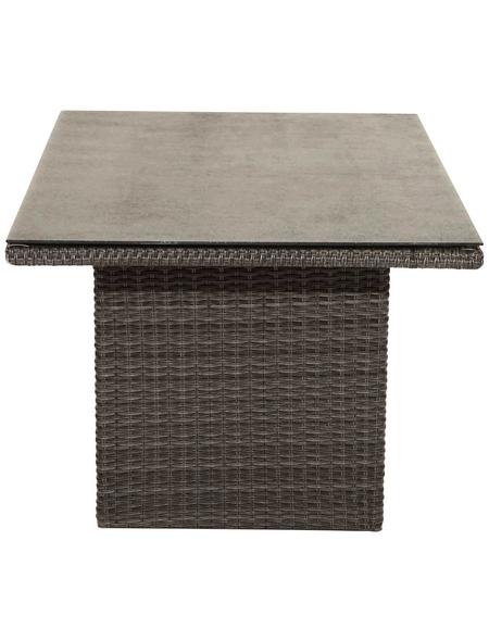 ploß® Loungetisch »Jardel«, mit Sicherheitsglas-Tischplatte, BxTxH: 140 x 85 x 68 cm