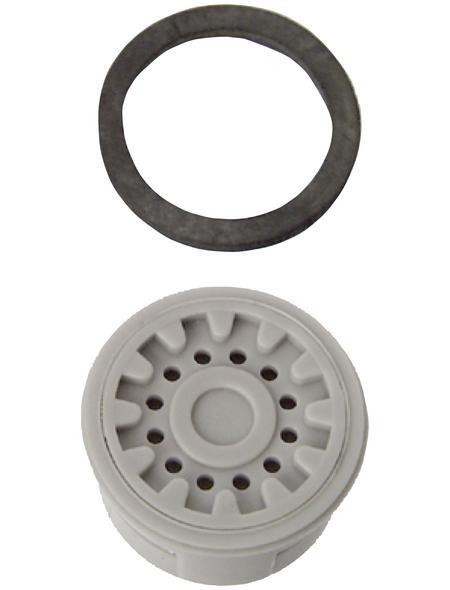 WELLWATER Luftsprudler, Kunststoff, grau, m22/m24