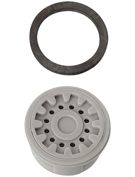 CORNAT Luftsprudler, Kunststoff, grau, m24/m22