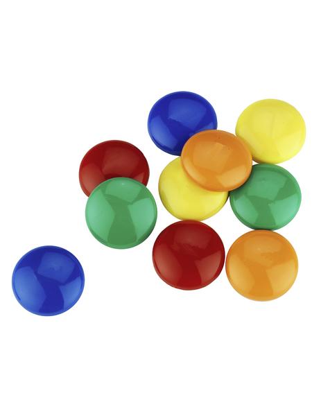 CONNEX Magnete, in Signalfarben, 10-teilig