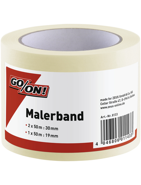 GO/ON! Malerband, beige, BxL: 30 x 50 cm