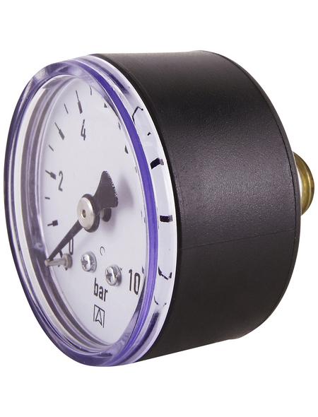 CORNAT Manometer, Kunststoff/Metall/Messing, grau