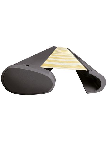 SPETTMANN Markise »PERFORM«, BxT: 400x200 cm, weiss/orange gestreift
