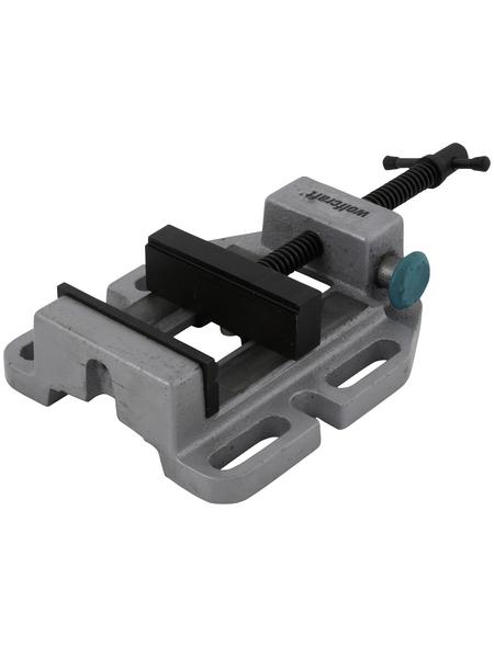 WOLFCRAFT Maschinenschraubstock, Spannweite: 80 mm, Backenbreite: 8,5 cm