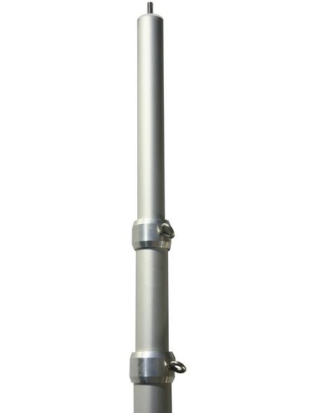 FLORACORD Mast, für Sonnensegel, Aluminium, Länge: 280 cm