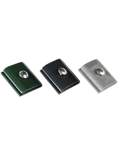 FLORAWORLD Mattenverbinder, Stahl, grün
