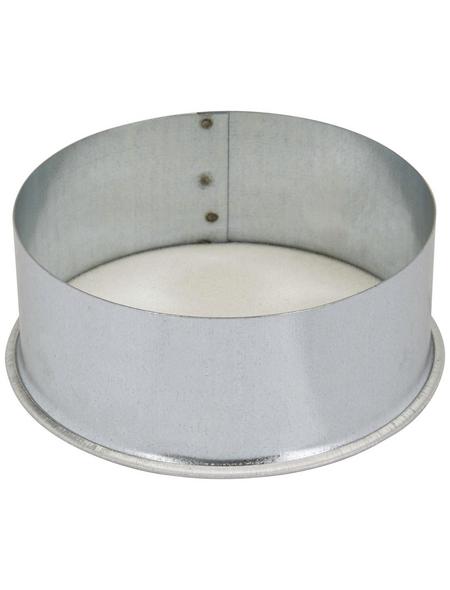 FIREFIX® Mauerkapsel, Ø 12 cm, Stahlblech, für: Mauerlöcher, Wandfutter