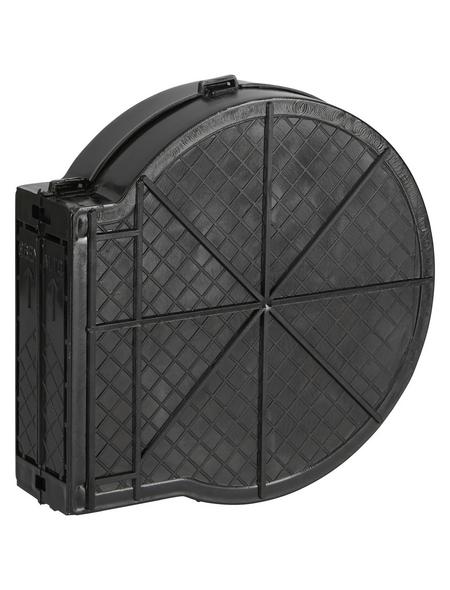SCHELLENBERG Mauerkasten, Kunststoff, grau, Lochabstand: 105 mm