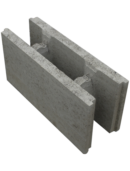 EHL Mauerstein, BxLxH: 17,5 x 25 x 50 cm, Beton