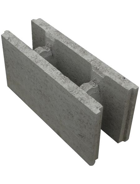 EHL Mauerstein, BxLxH: 17,5 x 50 x 25 cm, Beton