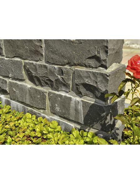 EURO STONE Mauerstein, BxLxH: 35 x 14 x 16 cm, aus Basalt