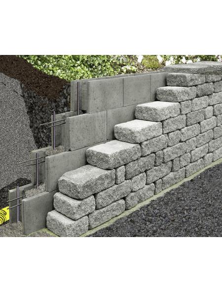 MR. GARDENER Mauerstein »Schalungsstein«, aus Beton, glatt