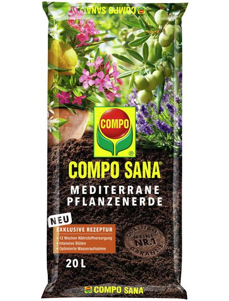 COMPO Mediterrane Pflanzenerde »COMPO SANA®«, für Mediterane Kübelpflanzen