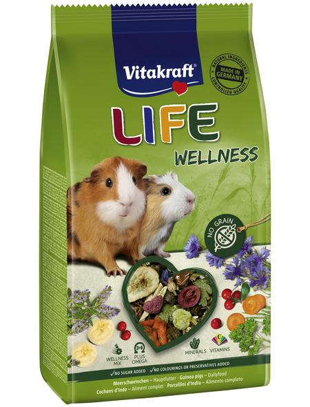 VITAKRAFT Meerschweinchenfutter »Life Wellness«, für Meerschweinchen