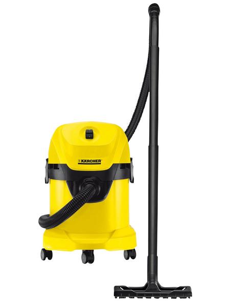 KÄRCHER Mehrzwecksauger »WD 3«, gelb, 1000 W
