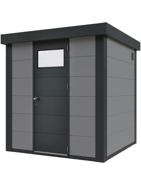 WOLFF FINNHAUS Metallgerätehaus, Außenmaße B x T: 208  x 208  cm