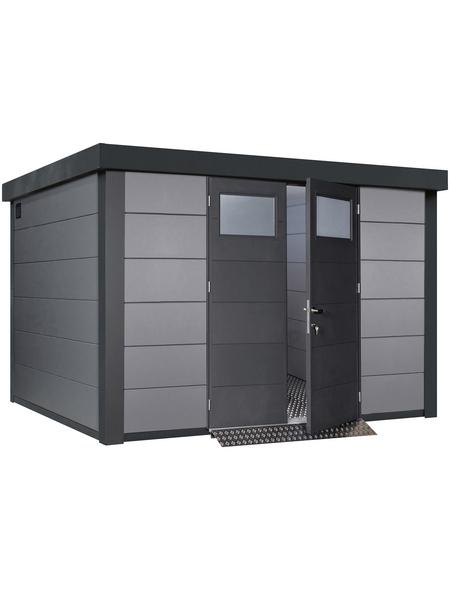 WOLFF FINNHAUS Metallgerätehaus »Eleganto 3330«, 21,7 m³, BxT: 328 x 298 cm