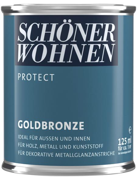 SCHÖNER WOHNEN Metallglanzfarbe, goldfarben , glänzend