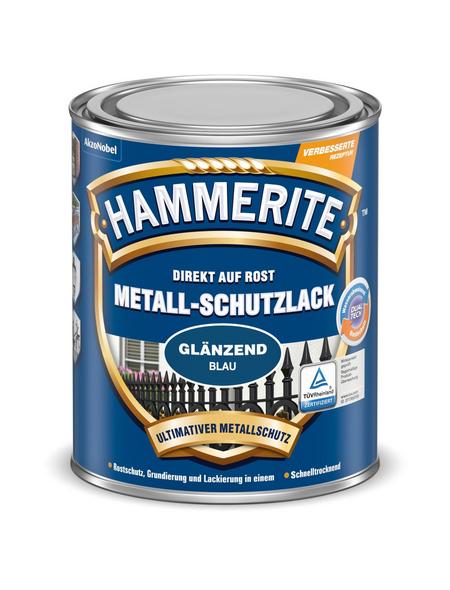 HAMMERITE Metallschutzlack, blau , glänzend