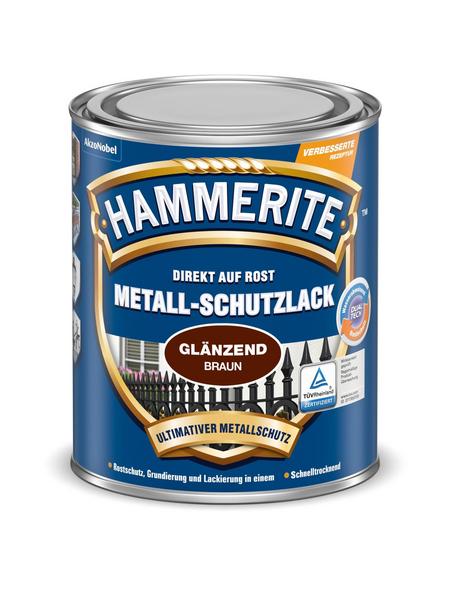 HAMMERITE Metallschutzlack, braun , glänzend