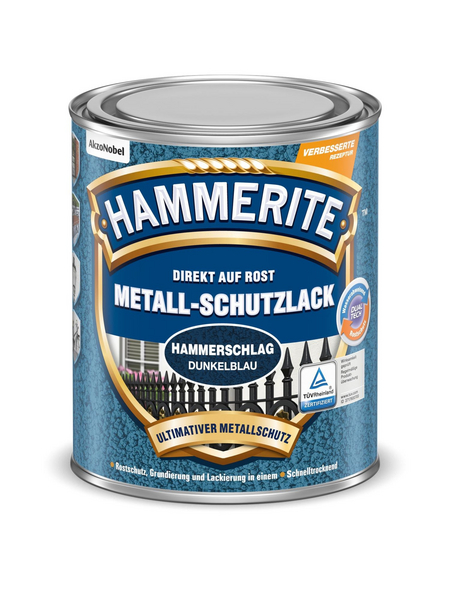 HAMMERITE Metallschutzlack, dunkelblau , glänzend