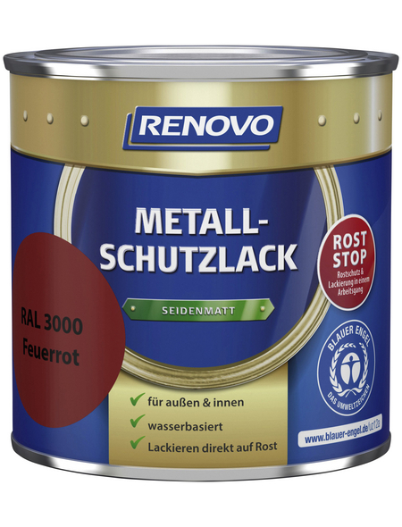 RENOVO Metallschutzlack, seidenmatt