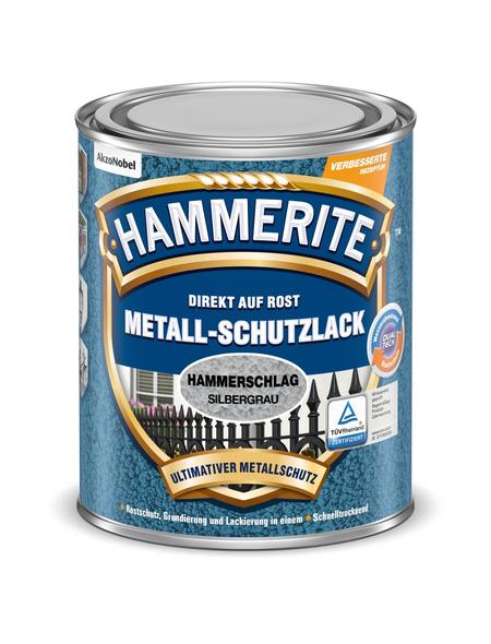 HAMMERITE Metallschutzlack, silbergrau , glänzend