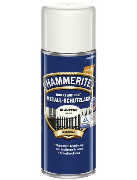 HAMMERITE Metallschutzlack, weiß , glänzend