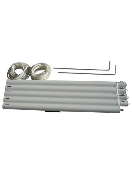 FLORACORD Metallstange, für Sonnensegel, Stahl, Länge: 270 cm