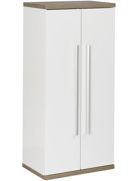 FACKELMANN Midischrank, BxHxT: 50,5 x 106 x 32 cm