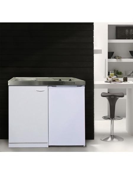 RESPEKTA Miniküche »MK100WCSV«, mit E-Geräten, Gesamtbreite: 100cm