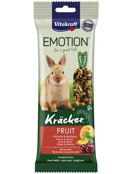 VITAKRAFT Mischfuttermittel »Kräcker«, für Zwergkaninchen, Früchte