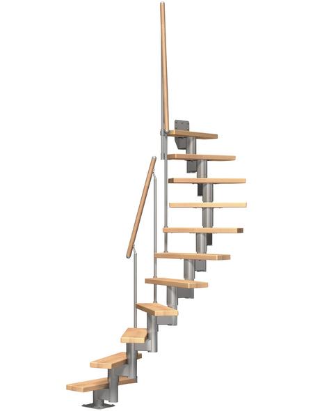 DOLLE Mittelholmtreppe »Dublin«, , , bis 270 cm Raumhöhe