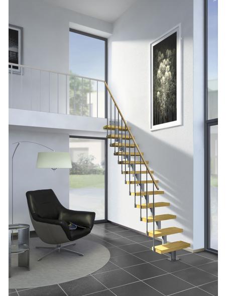 DOLLE Mittelholmtreppe »Dublin«, , gerade, bis 270 cm Raumhöhe