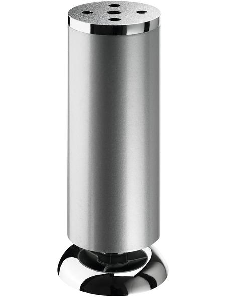 HETTICH Möbelfuß, Ø: 50 mm, silberfarben