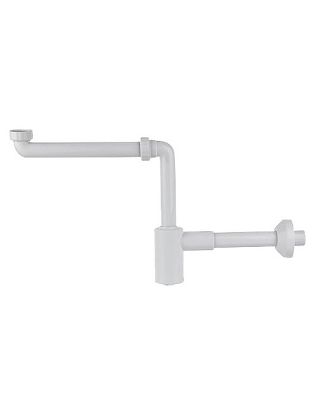 SPA AMBIENTE Möbelraumsparsiphon, Polypropylen (PP), 32_ mm_1_zoll, weiß