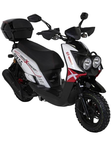 GT UNION Mofa »PX55 Cross-Concept«, 50 cm³, 45 km/h, Euro 4