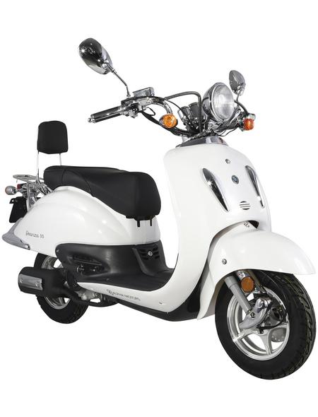 ALPHAMOTORS Mofa »Retro Firenze«, 50 cm³, 25 km/h, Euro 4