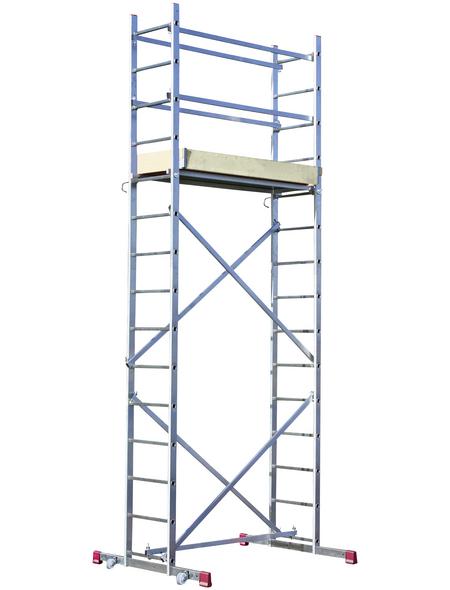 KRAUSE Montagegerüst »CORDA«, Gerüsthöhe: 420 cm