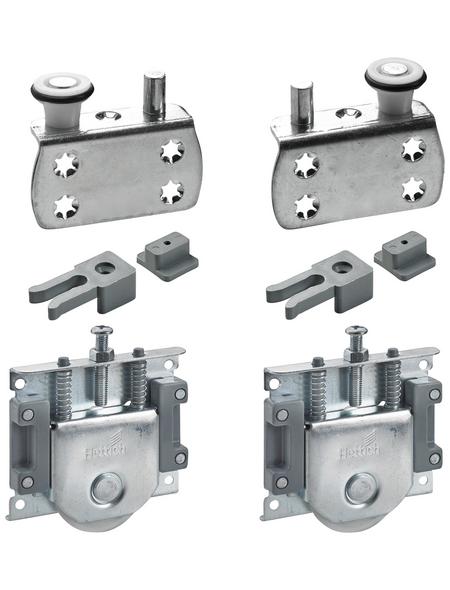 HETTICH Montagesatz, 16 mm, 19 mm, Stahl, Silber