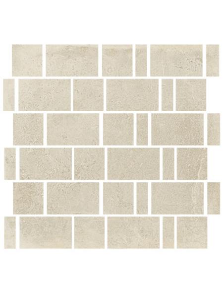 RENOVO Mosaikfliese »Esprit«, BxL: 30 x 30 cm, beige