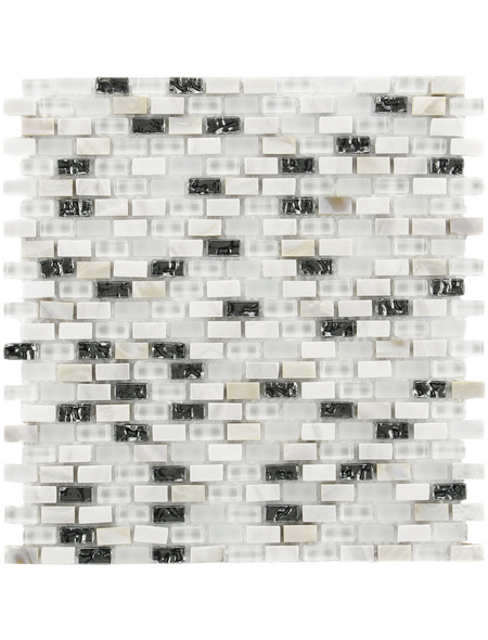 Mosaikmatte »5TH Avenue«, BxL: 28,5 x 28,5 cm, Wandbelag