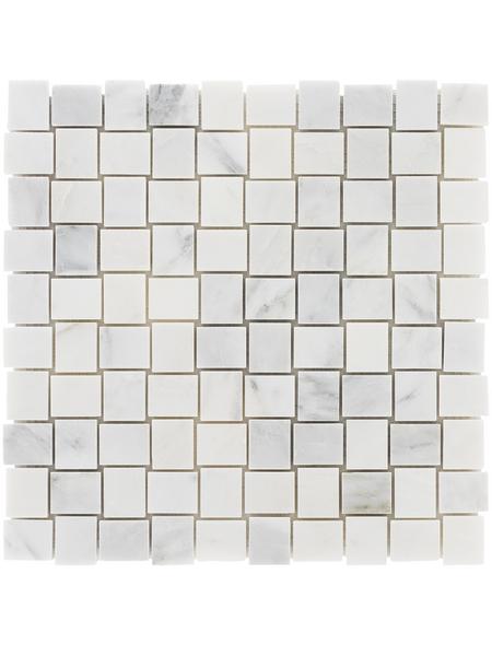 Mosaikmatte »Bascetw«, BxL: 30 x 30 cm, Wandbelag