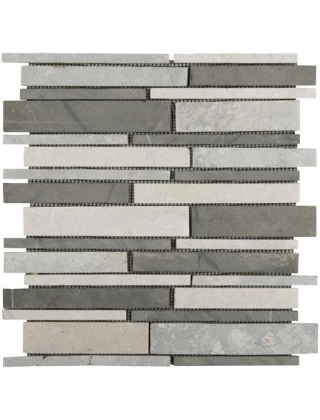 Mosaikmatte, BxL: 28,5 x 30,5 cm, Wandbelag
