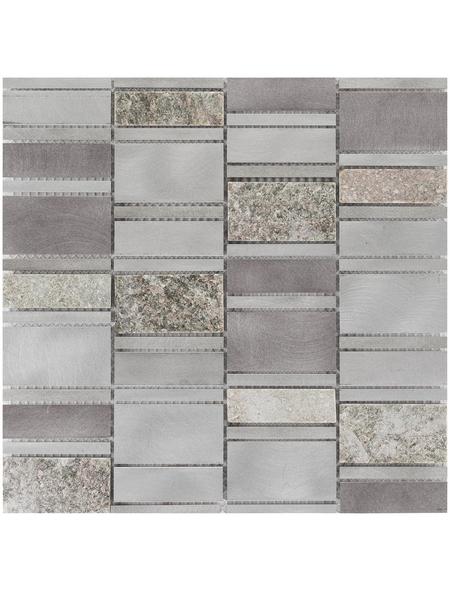 Mosaikmatte, BxL: 29,6 x 30 cm, Wandbelag