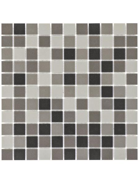 Mosaikmatte, BxL: 30 x 30 cm, Wandbelag/Bodenbelag