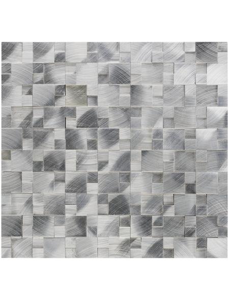 Mosaikmatte, BxL: 30 x 31,5 cm, Wandbelag