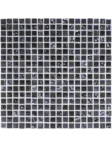 Mosaikmatte, BxL: 30,5 x 30,5 cm, Wandbelag