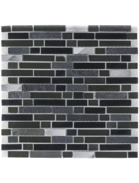 Mosaikmatte, BxL: 30,6 x 31,5 cm, Wandbelag